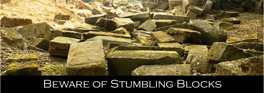 Common Stumbling Blocks in Recovery